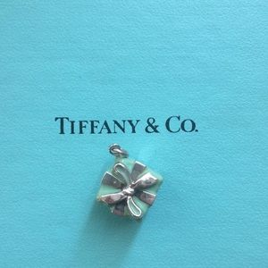 Tiffany Silver and Enamel Box Charm